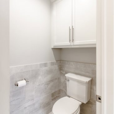 Master Bathroom Home Remodel - private toilet area