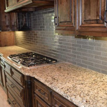 Kitchen Remodel Subway Tile Backsplash