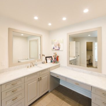 Master Bathroom Remodel - Vanities