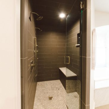 Master Bathroom Remodel - Shower