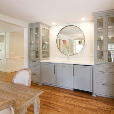 Midtown Tulsa Home Remodel | Dining Room Built-ins | Home Innovations
