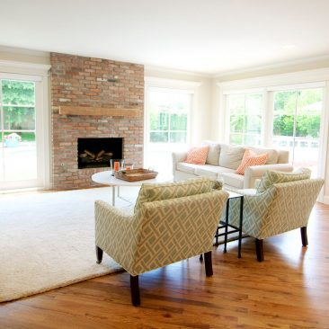 Midtown Tulsa Home Remodel | Family Room | Home Innovations