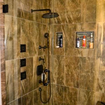Bathroom Remodel - tiled shower