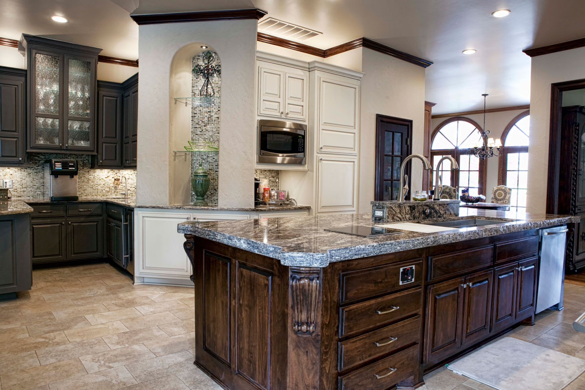 Remodeled galley kitchens extravagant home design for Kitchen ideas tulsa ok