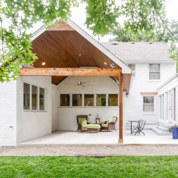 Back Porch/Patio Remodel - After