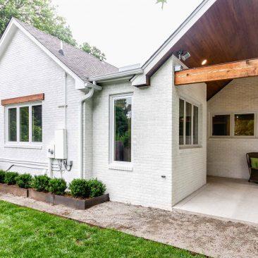 Back Exterior Home Remodel - After