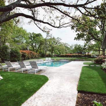 Outdoor Living Backyard Remodel with Pool