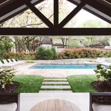 Outdoor Living Remodel Patio with Pool