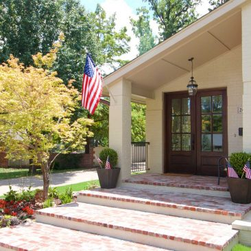 Midtown Tulsa Home Remodel | Front Porch | Home Innovations
