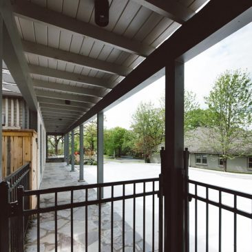 Home Exterior Remodel Covered Walkway