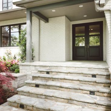 Home Remodel Front Entry - Double Doors