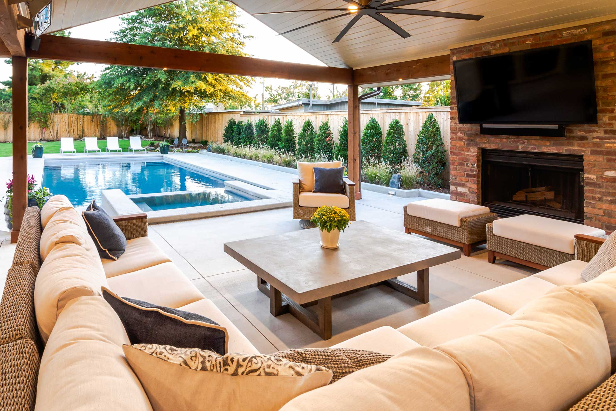 Outdoor Living Construction Projects Tulsa Home