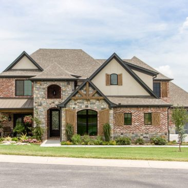 New Construction - Custom Home - Front Exterior