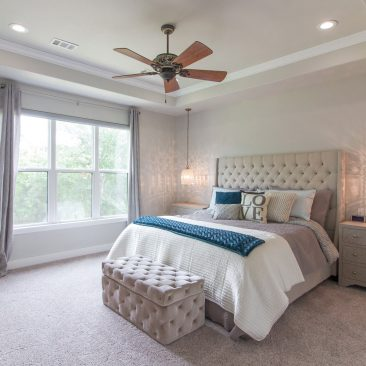 New Custom Home - Master Bedroom