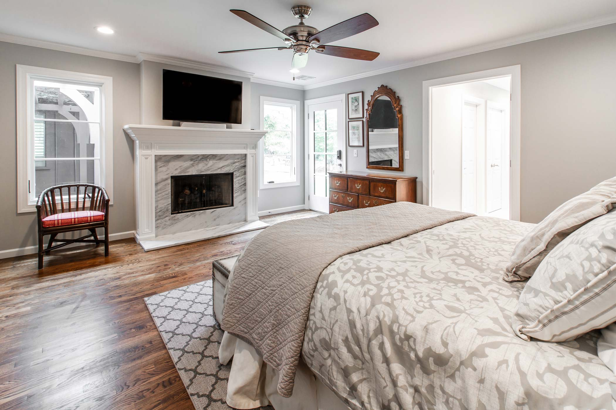 Master Bedroom Remodel - Tulsa Contractor | Home Innovations